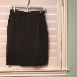 Gray Dana Buchanan Skirt